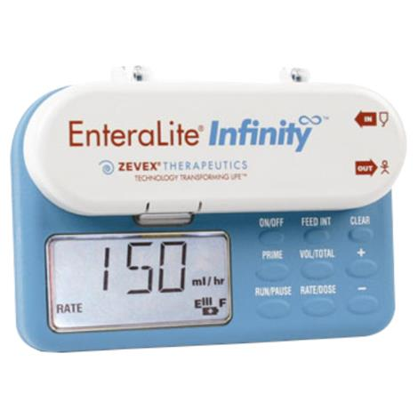 "Zevex EnteraLite Infinity Enteral Feeding Pump,4.05""H x 5.65""W x 1.95""D (10.3cm x 14.4cm x 4.9cm),Each,INFKIT2 / 49859"