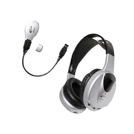 """Califone Wireless Infrared Stereo or Mono Headphone with Transmitter,7"""" x 8"""" x 3"""",Each,HIR-KT1"""