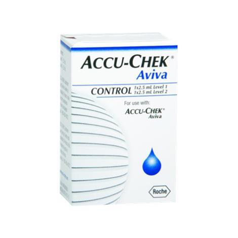 Roche Accu-Chek Aviva Control Solution,Control Solution,Each,4528638001