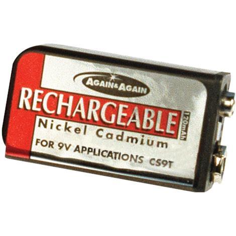 Drive Batteries,Alkaline,Each,AGF-9VBATT