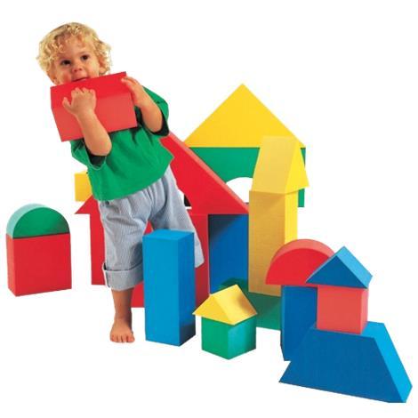 "Edushape Giant Foam Blocks,20.5"" x 18"" x 20"",Each,706140"