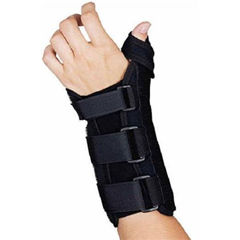 Image of Sammons Preston R-Soft Wrist Brace with Thumb Spica,Left-Small,Each,81137660