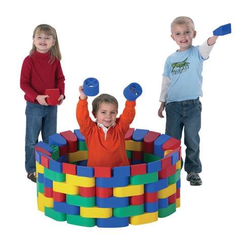 Childrens Factory Snap Plastic Bloc,Snap Bloc,Each,1620-60