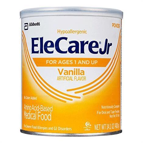 Abbott EleCare Amino Acid Based Medical Food,Banana,14.1 oz,6/Case,66275