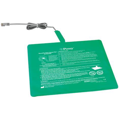 """Posey Six-Month Reusable Chair Sensor Pad,Square,13""""W x 13""""L (33cm x 33cm),Each,8308"""