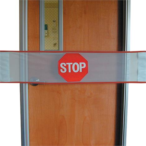 "Posey Door Guard,53""W x 12""H (135cm x 30cm),Each,8210"