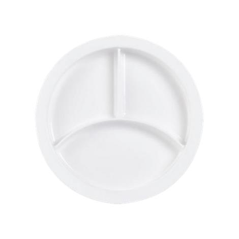 Freedom Divided Plate With Suction Pad,Three Section Plate,12/Case,H-171