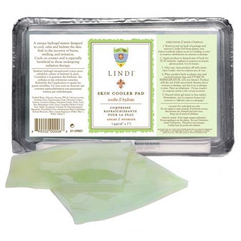 Lindi Skin Cooler Pad,4 x 7 Pad,Each,01CPR01