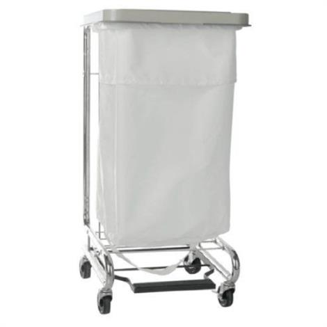 McKesson Soiled Linen Hamper Stand With Foot Pedal,Hamper Stand,30-33 Gal,Each,03-159100