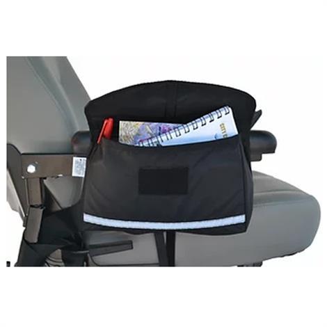 EWheels Saddle Armrest Bag,Large Saddle Armrest Bag,Each,EW-Armrestbag