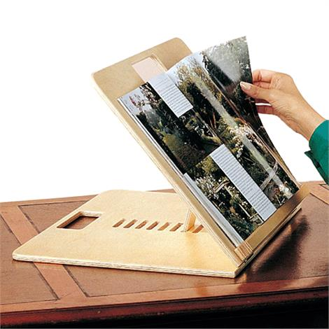 "Adjustable Folding Table,14""W x 17""L,Each,4061"