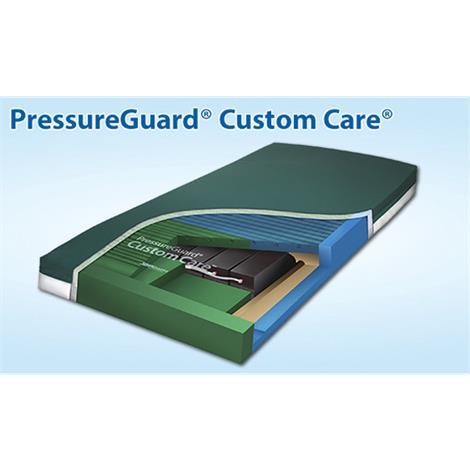"Span America PressureGuard Custom Care Mattress with Reactive Pressure Redistribution Surface,80""L x 36""W x 7""H,Each,NP803629"