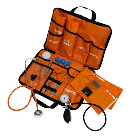 Mabis DMI All in One EMT Kit with Dual Head Stethoscope,EMT Kit,Each,01-650-058