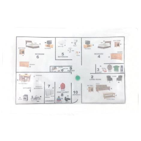 Skil-Care House Gel Maze,19W x 12D,Each,914732