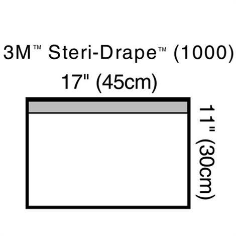 "3M Steri-Drape Towel Drape,Small,17"" X 11"",10/Pack,1000"