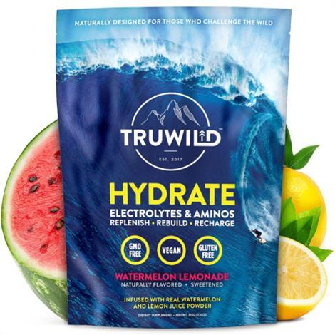 Truwild Hydrate Drink Mix Powder,Hydrate,9.5lbs,12/Case,TruHydrate101
