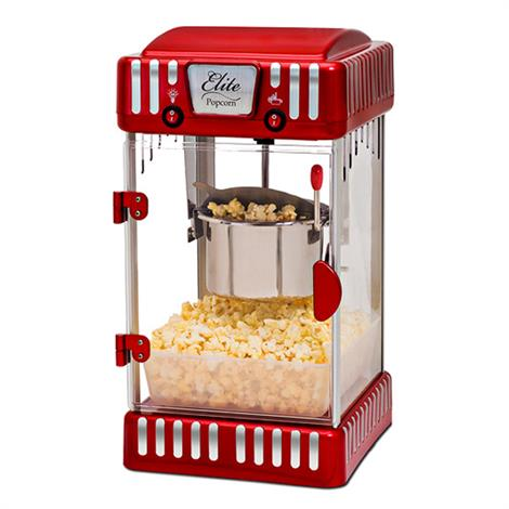 Elite Classic Kettle Popcorn Maker,10.75 x 9.5 x 17.5,Each,EPM-250