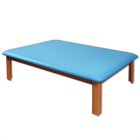 A3BS Mat Platform Bariatric Table,Black,Each,W15072