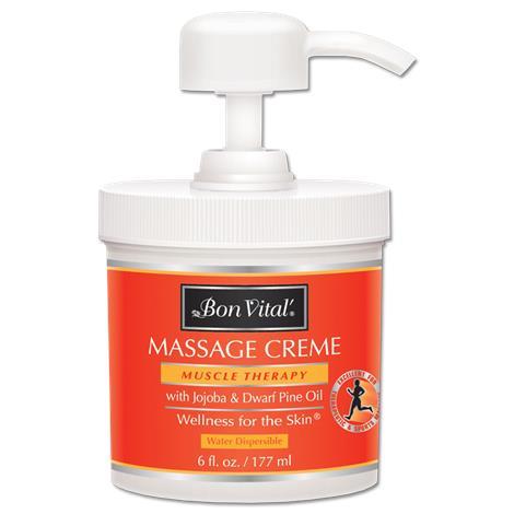 Bon Vital Muscle Therapy Creme,1/2 Gallon Jar,Each,BVMTCHG