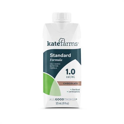 Kate Farms Core Essentials 1.0 Standard Formula,Vanilla,12/Case,Xk851823006638