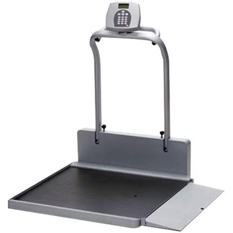 """Graham-Field Digital Wheelchair Ramp Scale,39-1/2"""" x 47-7/8""""x 46-1/2""""(ramp down),Each,HOM2500"""