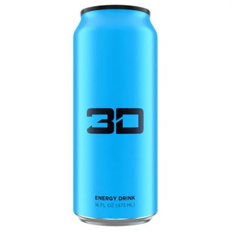 3D Energy Drink,Red White And Blue,12/Case,5380010