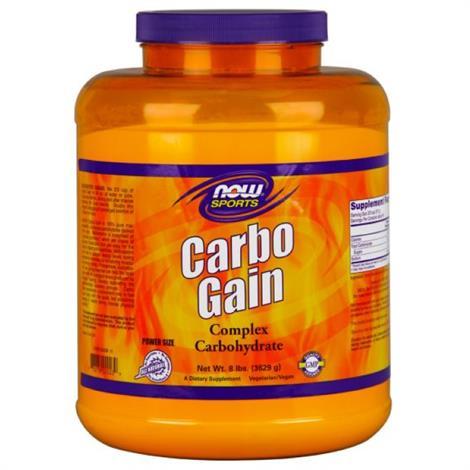 Now Carbo Gain Complex ,Carbo Gain, 8lb,Each,9440039