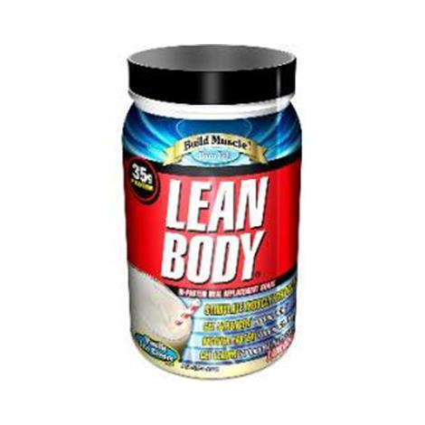 Labrada Lean Body Hi Meal Replacement Shake,Cinnamon Bun 2.47lb,Each,790695