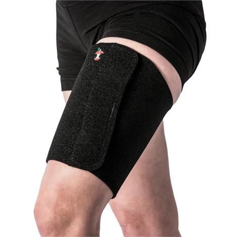 "Core Thigh Wrap,X-Large,Fits 24"" to 30"" Thigh,Each,THI-6490-BK-XLG"