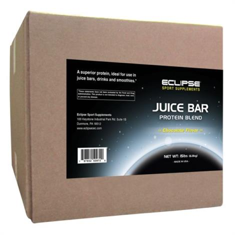 Eclipse Sport s Juice Bar Dietary ,Grass Fed Chocolate,15lb,Each,350961