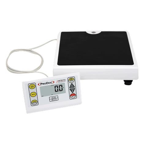 Detecto PD100 ProDoc Professional Doctor Scale,Capacity: 480 lb x 0.2 lb / 220 kg x 0.1 kg,Each,PD100