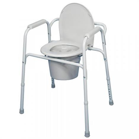 Bilt-Rite 3 in 1 Portable Commode,3 in 1 Commode,Each,10-99040