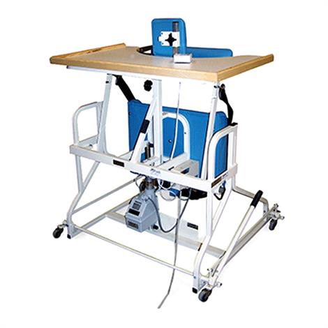 """Hausmann Bariatric Electric Stand-In Table,43""""W x 42""""D x 42-1/2"""" to 52-1/2""""H,Each,6185"""