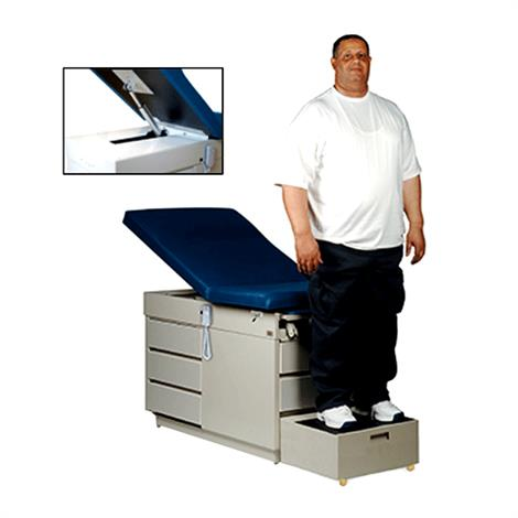 Hausmann Bariatric Power-Back Exam Table,0,Each,0