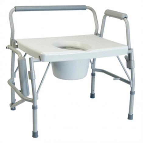 Graham-Field Lumex Imperial Collection 3-in-1 Steel Drop Arm Commode,Maximum Weight Capacity- 600 lb,Each,6438A