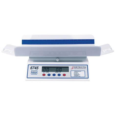 Detecto Digital Scale,Digital Scale with 4-Sided Tray,Each,6745