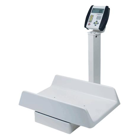 Detecto Digital Pediatric Scale,Capacity: 130 lb x 0.1 lb / 59 kg x 0.05 kg,Each,8435