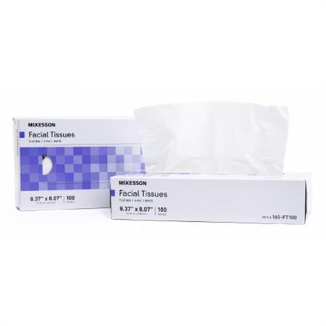 McKesson Facial Tissue,5-1/10 X 7 Inch,40/Box,165-FT40