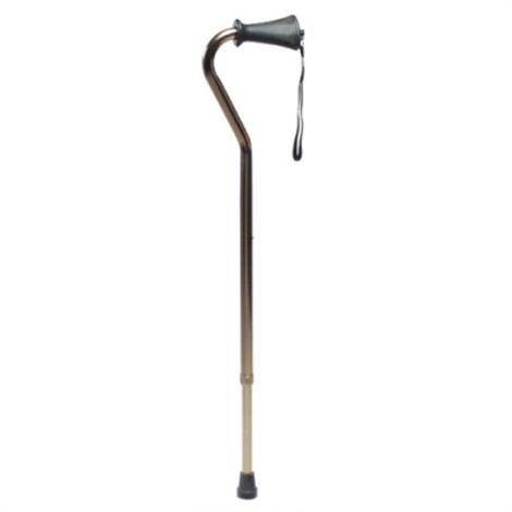 Graham-Field Lumex Adjustable Offset Canes - Ortho-Ease Grip,Bronze, Length (31-39),6/Case,6327