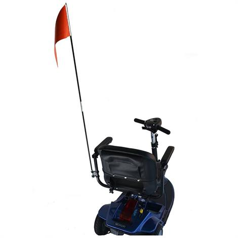 EWheels Flag With Mounting Hardware,Flag With Mounting Hardware,Each,EWMH