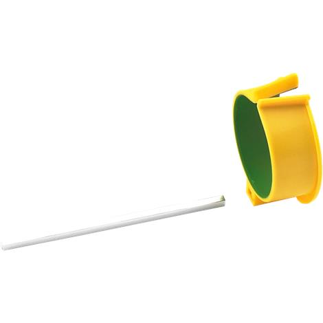 PETA Easi-Grip Arm Support Cuff,Green and Yellow,Each,PET101