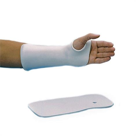 Rolyan Thumb Hole Solid Wrist Cock Up Splint,Aquaplast-T - Solid 1/8