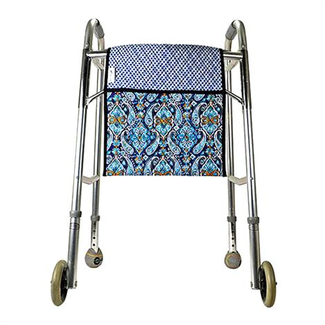 Maddak Double-Sided Quilted Walker Tote Bag,Print,Blue,Each,F703220050