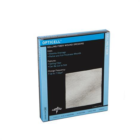 "Medline Opticell Gelling Fiber Wound Dressing 6""L x 6""W,6""L x 6""W, Sheet,5/Pack,MSC7866EPZ - from $31.59"