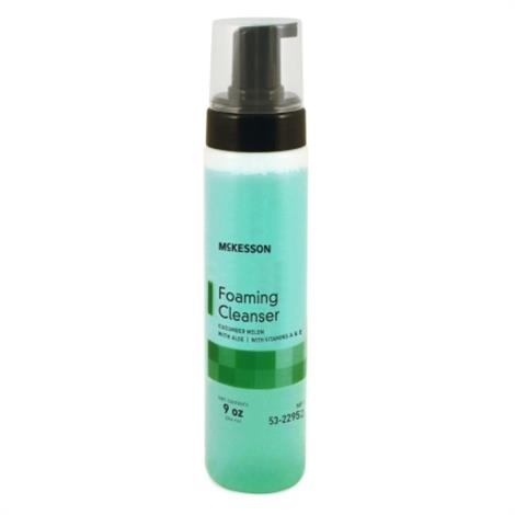 McKesson Rinse Free Body Wash Foaming,9 oz. Pump Bottle Cucumber Melon Scent,12/Case,53-22952-9