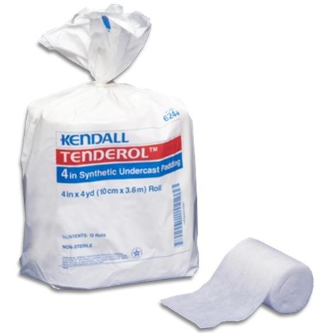 "Covidien Kendall Tenderol Synthetic Undercast Padding,2"" x 4yd,24/Pack,3Pk/Case,6242"