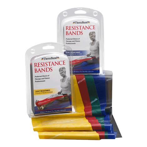 TheraBand Professional Resistance Bands and Tubing,Bands,Heavy,Each,20413