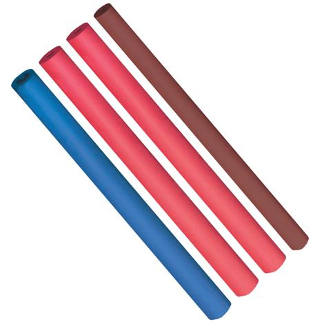 Foam Tubing,Red 1 1/8' OD X 3/8' ID x 18',4/Pack,#847102005638