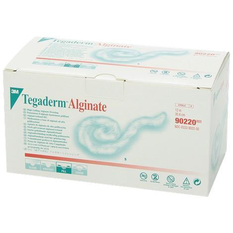 "3M Tegaderm High Gelling Alginate Dressing,4"" x 4"" (10cm x 10cm),10/Pack,5Pk/Case,90212"