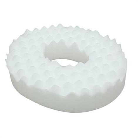 "Complete Medical Eggcrate Invalid Ring,15"" x 17 x 4"",White,Without Cover,Each,1985"